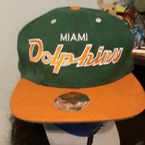 Vintage miami dolphins hat
